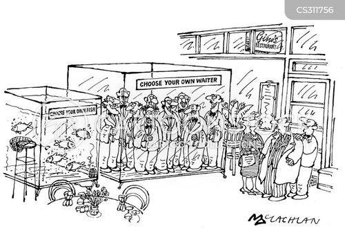 waitors cartoon