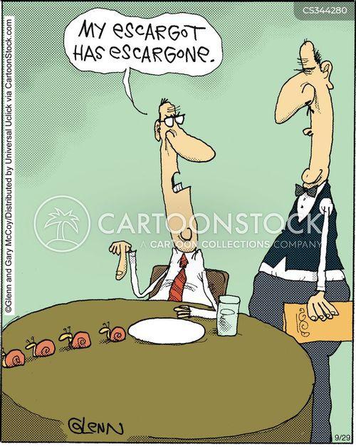 escargot cartoon