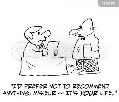 recommends cartoon