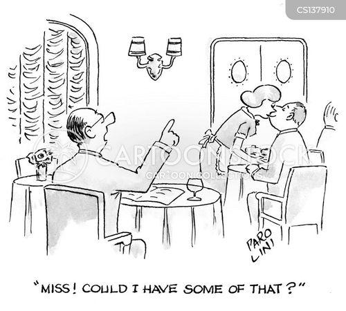 not on the menu cartoon