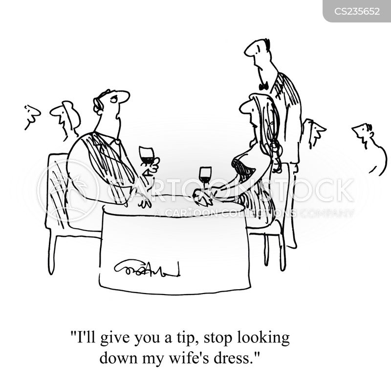 meals out cartoon