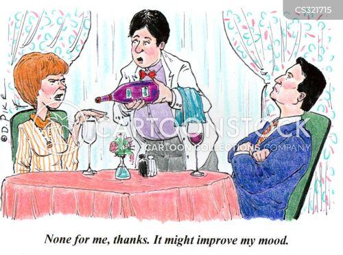 marital disputes cartoon