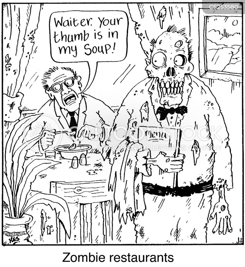 resturants cartoon