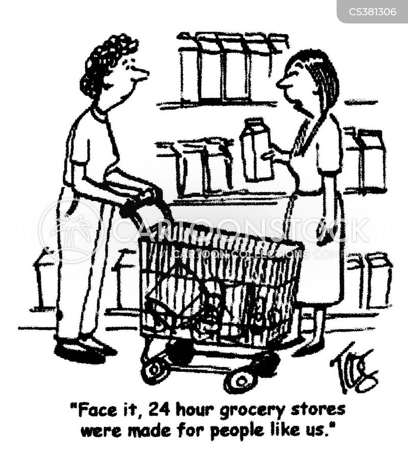 Grocery Store Building Cartoon 24 Hour Grocery Store Cartoon