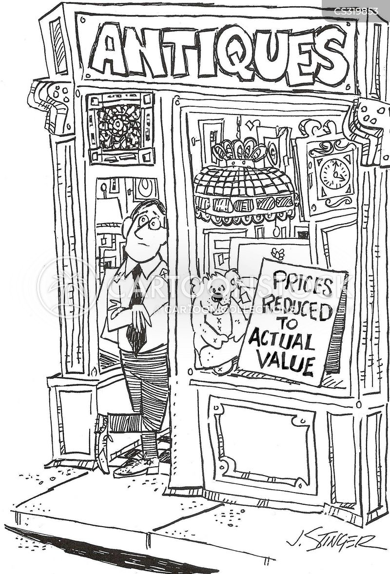 overpricing cartoon