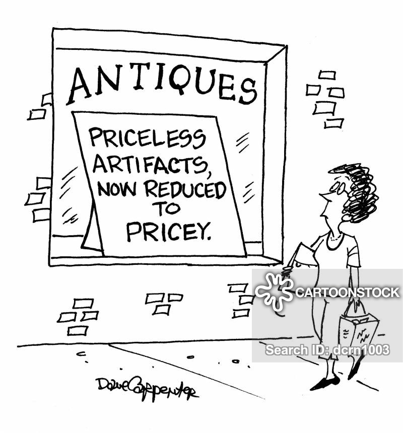 antique stores cartoons  comics funny pictures  cartoonstock