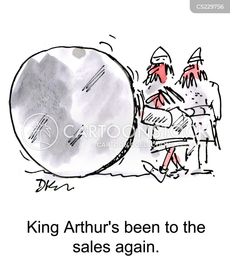 knights of the round table cartoon