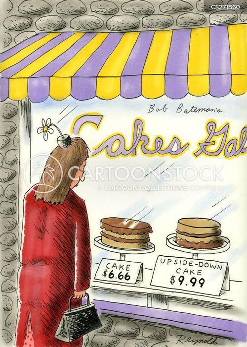 cake shop cartoon