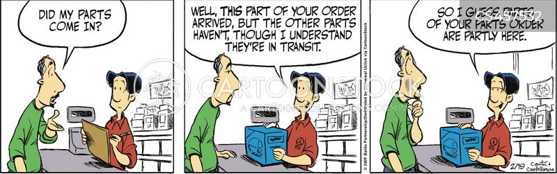 special orders cartoon