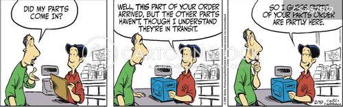 special order cartoon