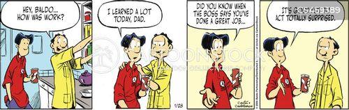 bad employees cartoon
