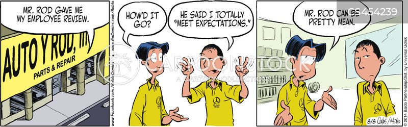 Employee Evaluation Cartoons And Comics  Funny Pictures From