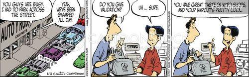 parking validation cartoon