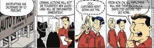 distrusts cartoon