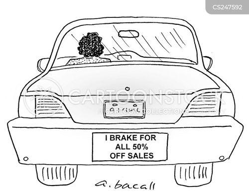 braking cartoon