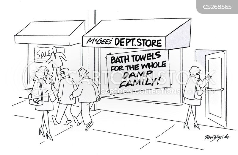 bath towel cartoon