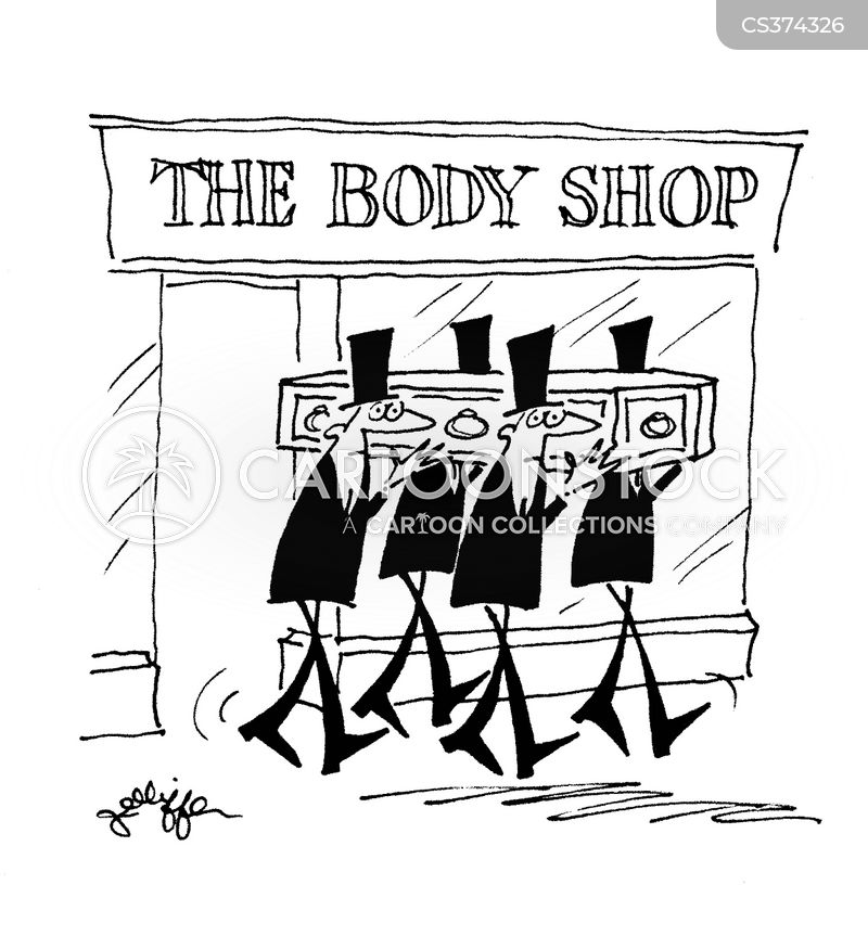 The Body Shop Cartoons And Comics Funny Pictures From Cartoonstock