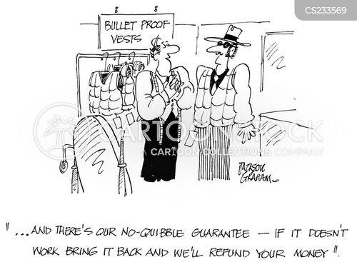 bulletproof cartoon