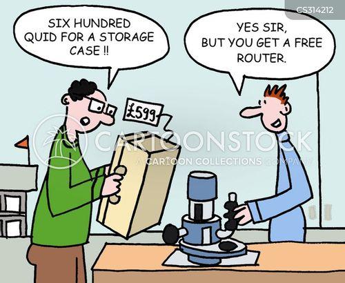 router cartoon