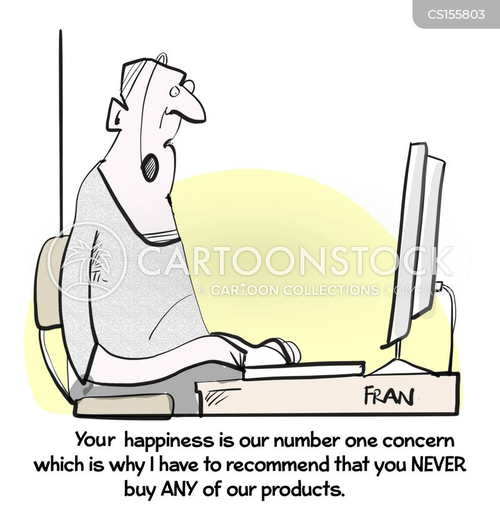 customer experience cartoon