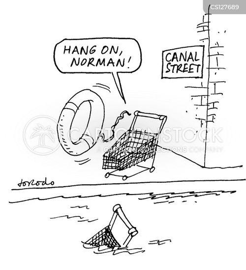 canal street cartoon