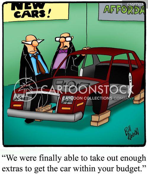 car manufacturing cartoon