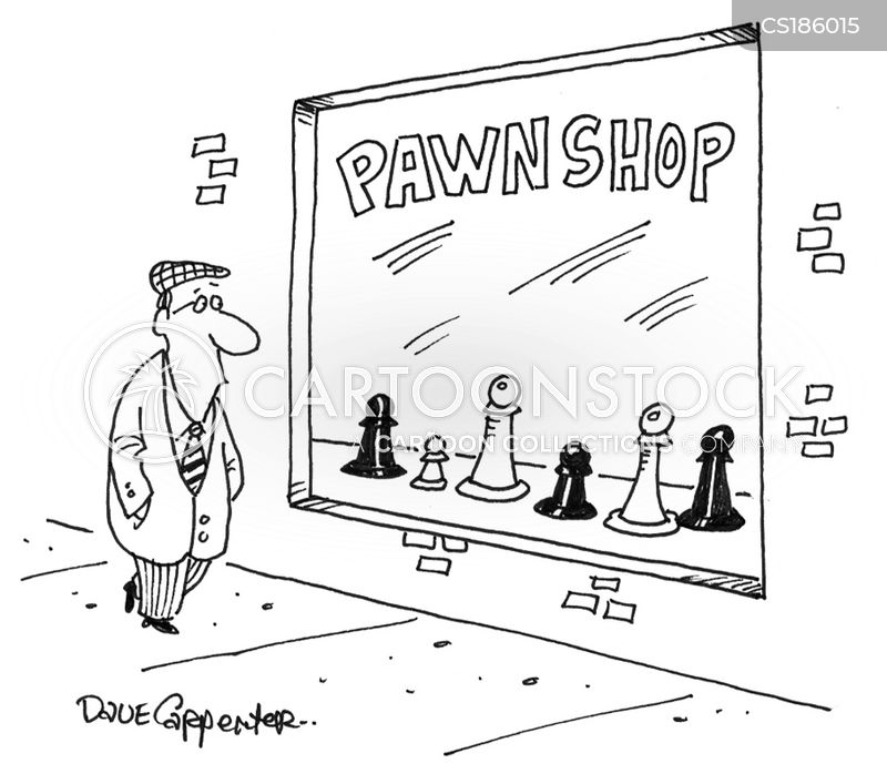 pawn cartoon