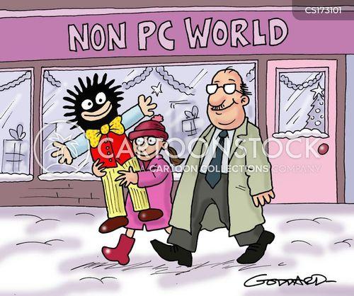 black cartoon