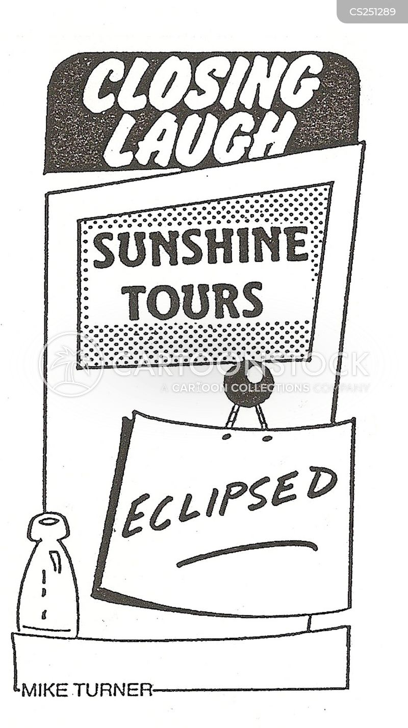 eclipsed cartoon