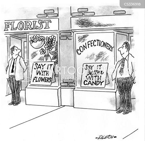 confectioner cartoon