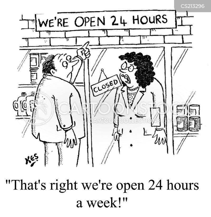 twenty four hours cartoon