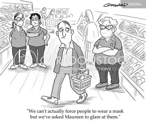 enforcing cartoon