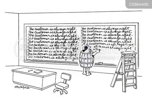 black board cartoon