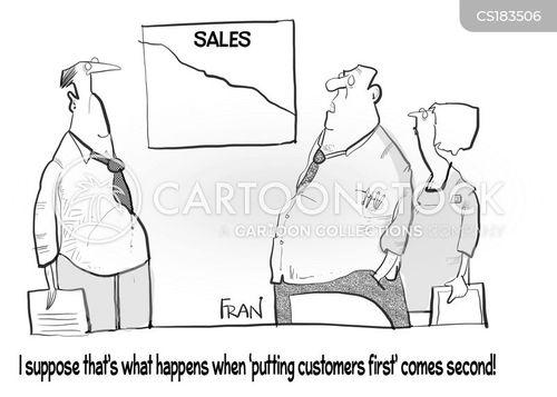 Customer Service Training Cartoons and Comics - funny