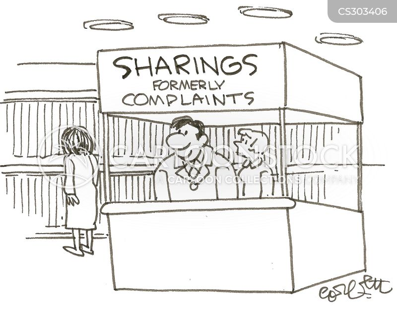 customer service departments cartoon