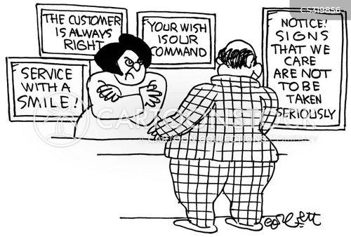 Customer service training cartoons customer service training cartoon