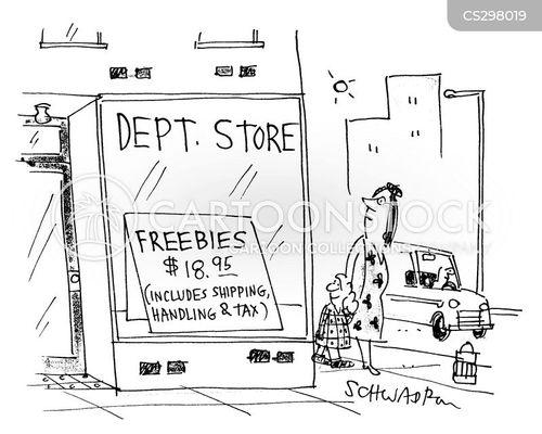 shipments cartoon