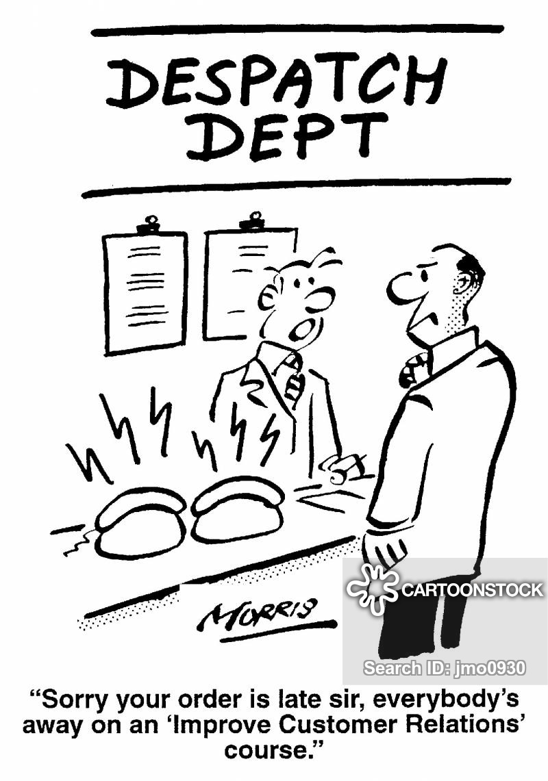 despatch department cartoon