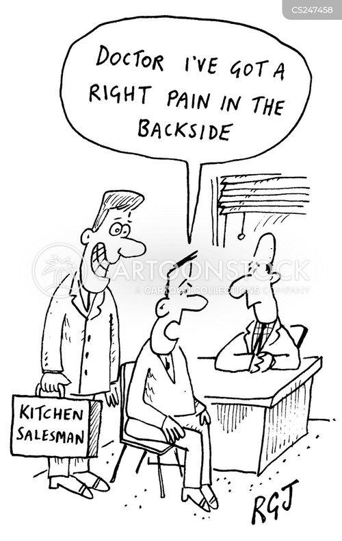 backside cartoon