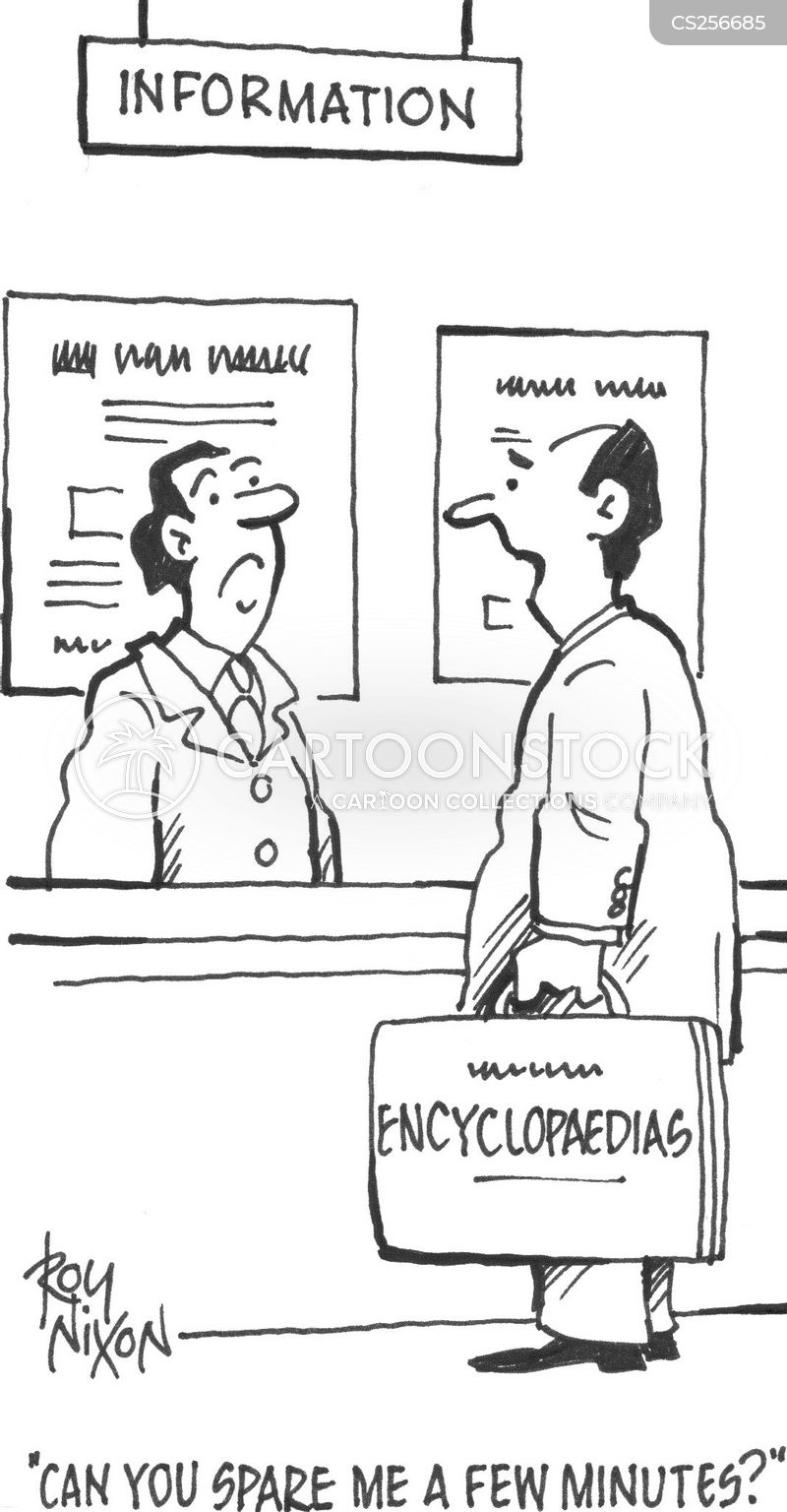 encyclopaedia cartoon
