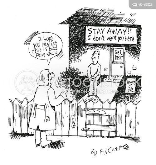 unfriendliness cartoon