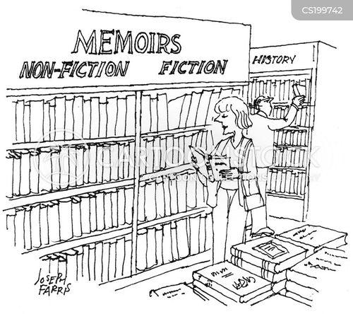 non fiction cartoon