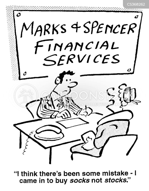 marks and spencer cartoon