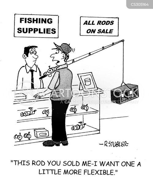 fishing stores cartoon