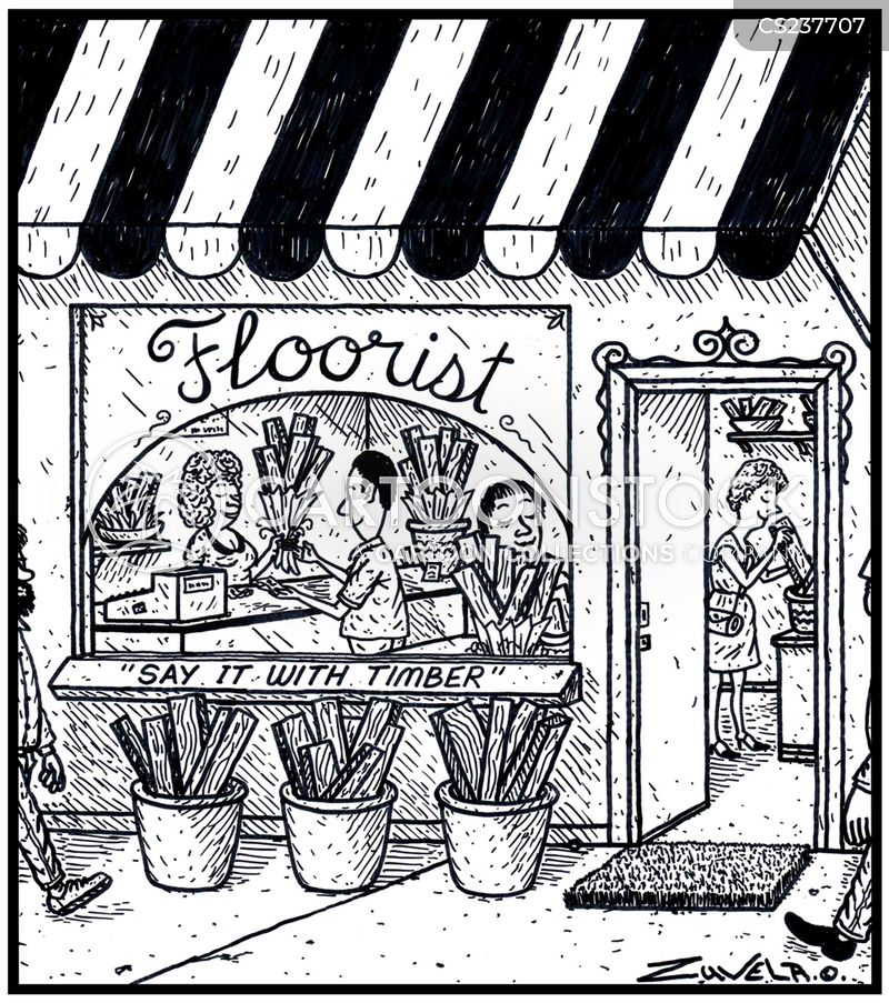 floorist cartoon