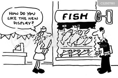 sardine boxes cartoon