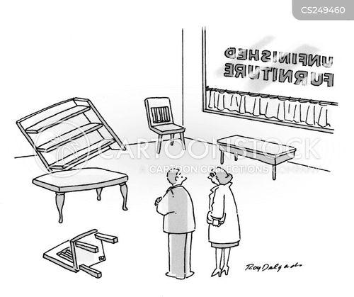 unfurnished cartoon
