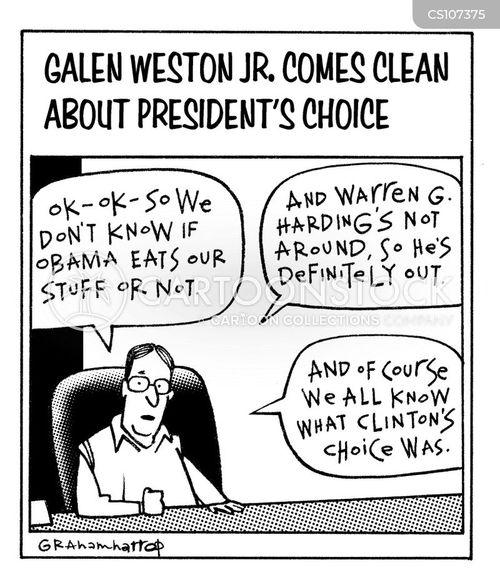 coming clean cartoon