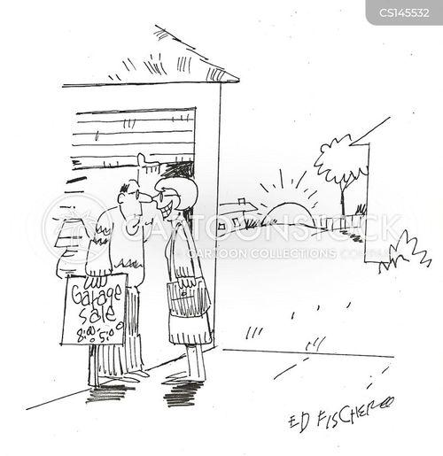 bargain hunting cartoon