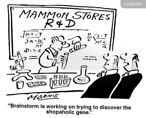 genetic research cartoon